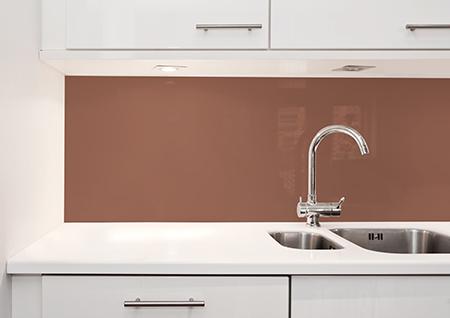 Glassplate kjøkken trendfarge rust trendfarge 2019