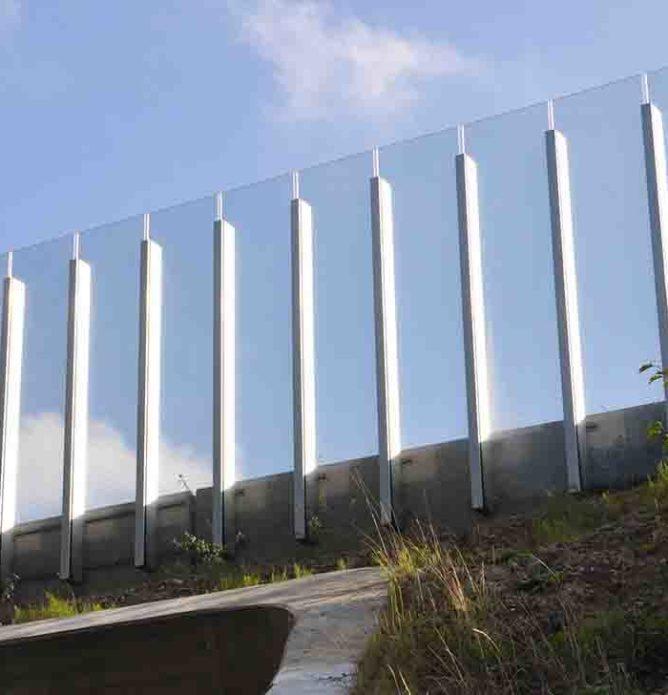 Plexiglass i bygning og interiør