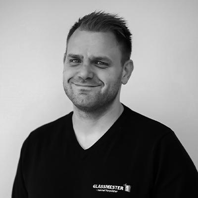 Kim Sunden er Driftssjef, med ansvar for salg til proff-kunder for Glassmester1 i Oslo og Romerike.